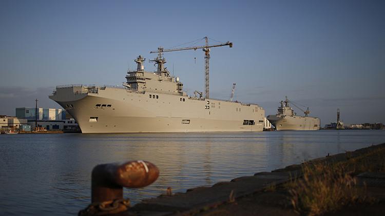 Arabia Saudita prestará asistencia financiera a Egipto para que compre a Francia los Mistral