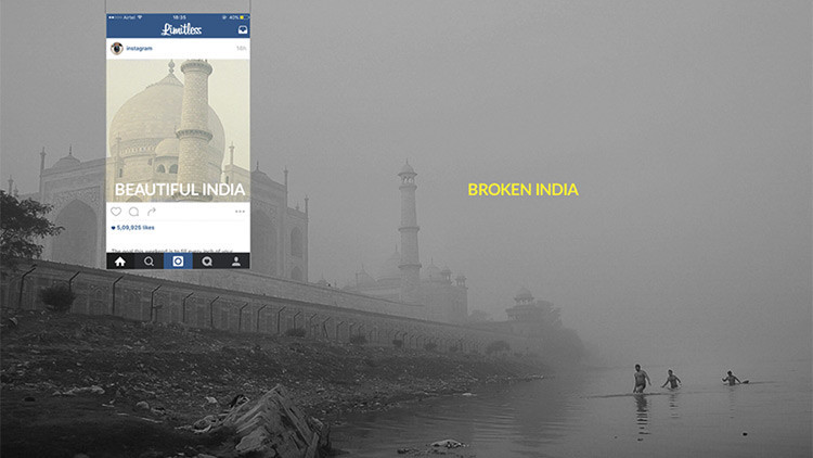 """""""La India rota"""": Cómo las fotografías distorsionan la realidad de un país de contrastes"""