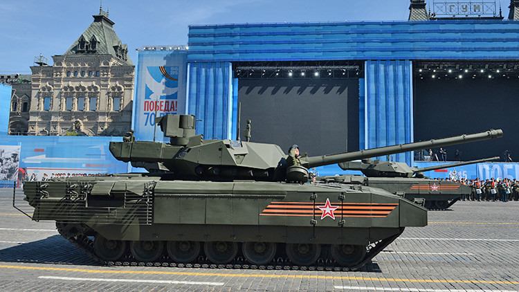 El Armata se refuerza: el nuevo tanque ruso contará con un motor aún más potente