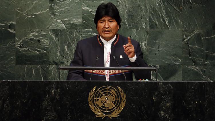 """Evo Morales: """"La guerra es el mejor negocio del capitalismo"""""""