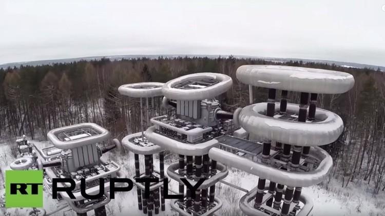 Videos: Ciudades fantasma e instalaciones secretas de la URSS, a vista de drones