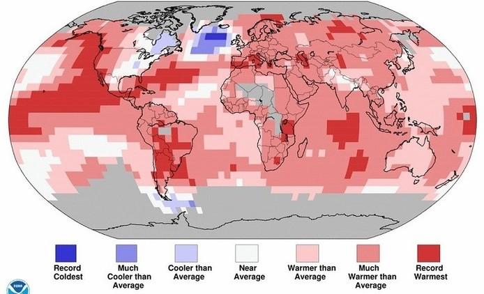 Mapa: Una masa de aire gélido en medio del Atlántico alerta a los científicos