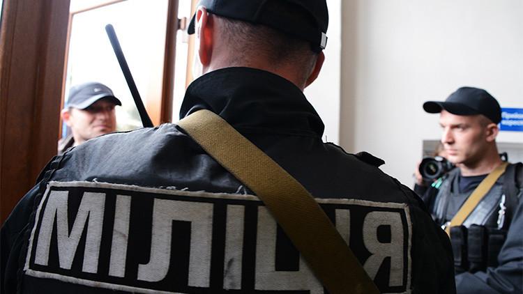 Ucrania: Se produce una fuerte explosión en el edificio del Servicio de Seguridad en Odessa