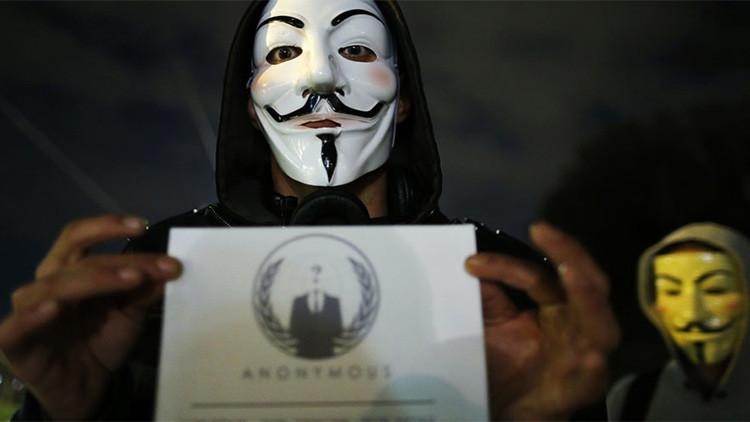 Anonymous ataca sitios web saudíes en protesta por la condena a crucifixión de un joven