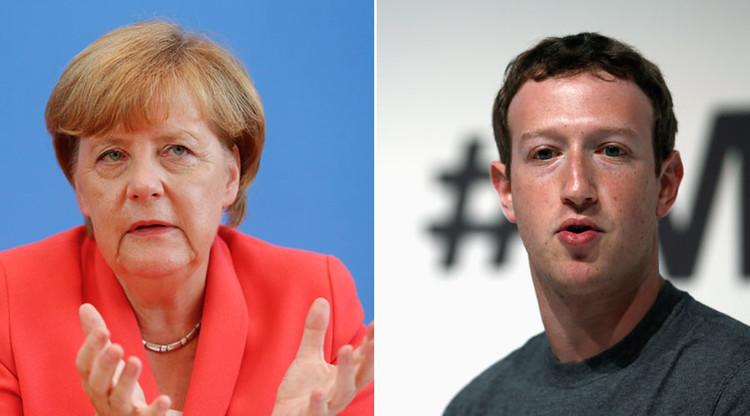Merkel reprende a Zuckerberg por no combatir a fondo el odio racial en Facebook