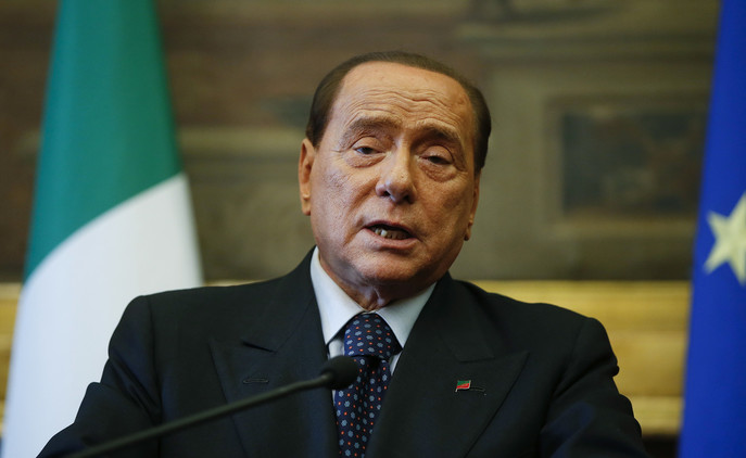 """Berlusconi califica de """"democrática"""" la reunificación de Crimea con Rusia"""