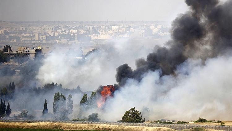 Israel bombardea las posiciones del Ejército sirio