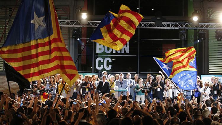 Cataluña: Los soberanistas alcanzan mayoría absoluta en escaños pero no en votos
