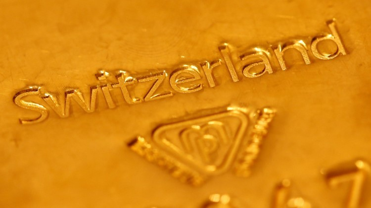 Suiza investiga a siete bancos por posible fraude con metales preciosos