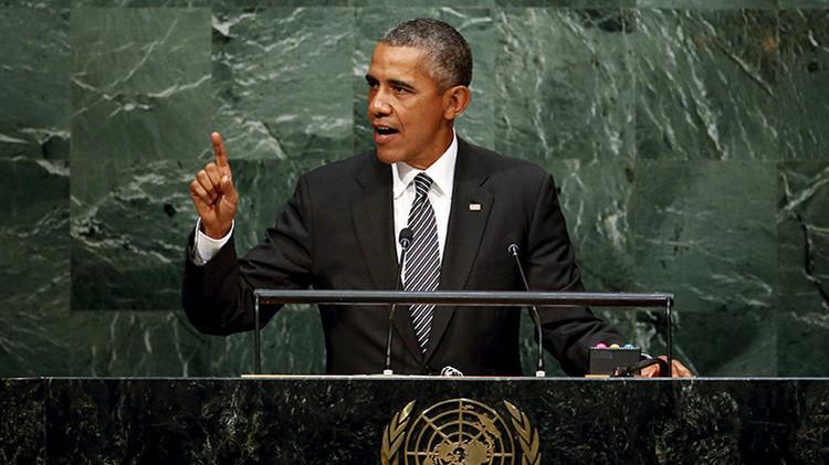 EN VIVO: Barack Obama interviene en el debate de la 70.ª Asamblea General de la ONU