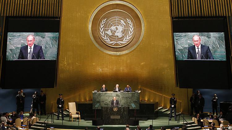 Histórico: Putin habla en la Asamblea General de la ONU por primera vez en 10 años