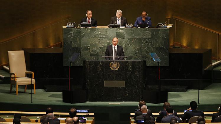 """Putin: """"¿Se dan cuenta de lo que hicieron los que generaron los conflictos en Oriente Medio?"""""""