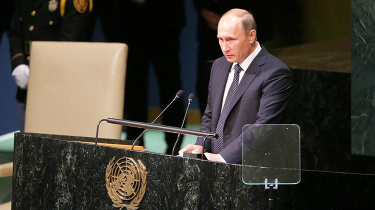 """Putin sobre el EI: """"No son más tontos que ustedes, y quién sabe quién utiliza a quién"""""""