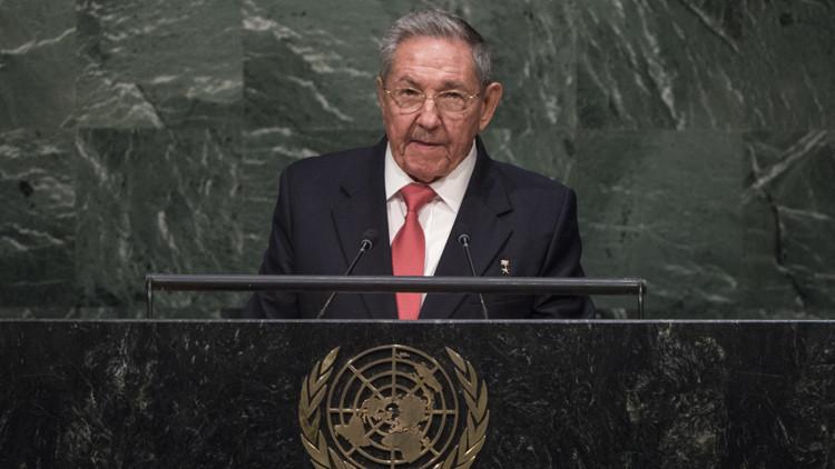 Raúl Castro interviene por primera vez ante la Asamblea General de la ONU