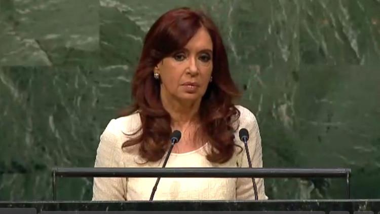 """Kirchner: """"El rescate de las economías es un eufemismo para el rescate de los bancos"""""""