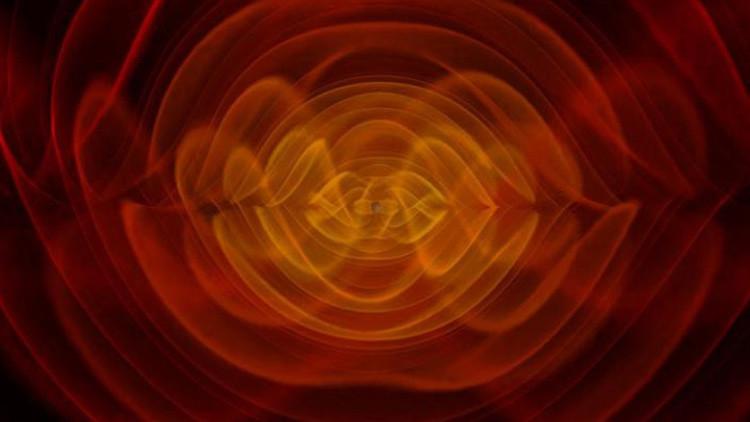 Video: la impresionante fusión de dos agujeros negros