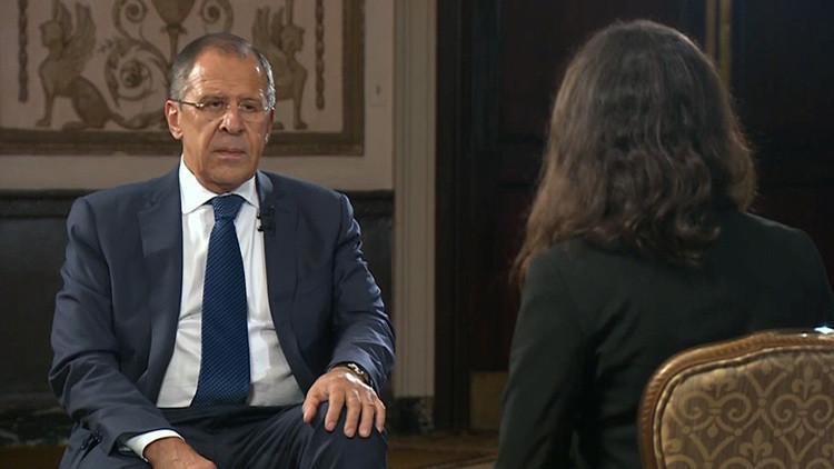 """Lavrov a RT: """"EE.UU. socava la autoridad de la ONU con las acciones unilaterales en Siria"""""""