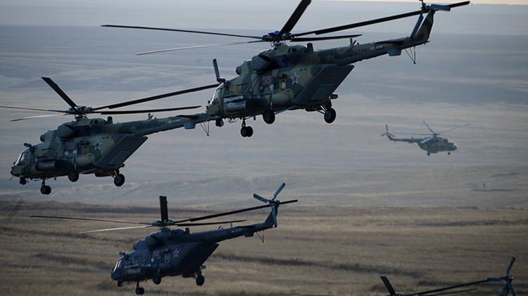 Rusia ensaya maniobras militares a gran escala con la mayor agrupación aérea desde la URSS