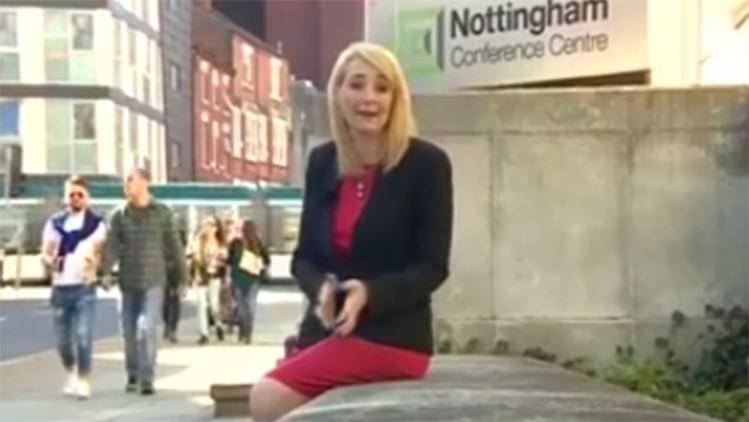 Video: Una corresponsal sufre un comentario sexista mientras informa del acoso callejero