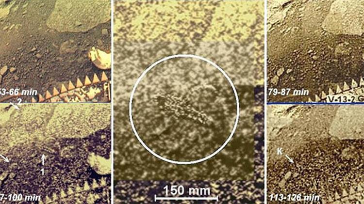 Desclasifican unas imágenes secretas del planeta Venus de hace 30 años