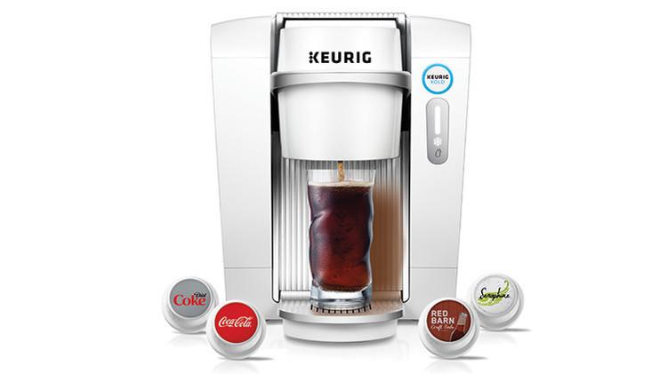 Una nueva máquina permite preparar Coca Cola, Sprite y Fanta en casa