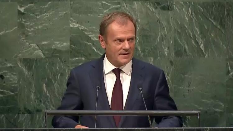 """Donald Tusk: """"La crisis migratoria en Europa requiere una resolución global y solidaridad mundial"""""""