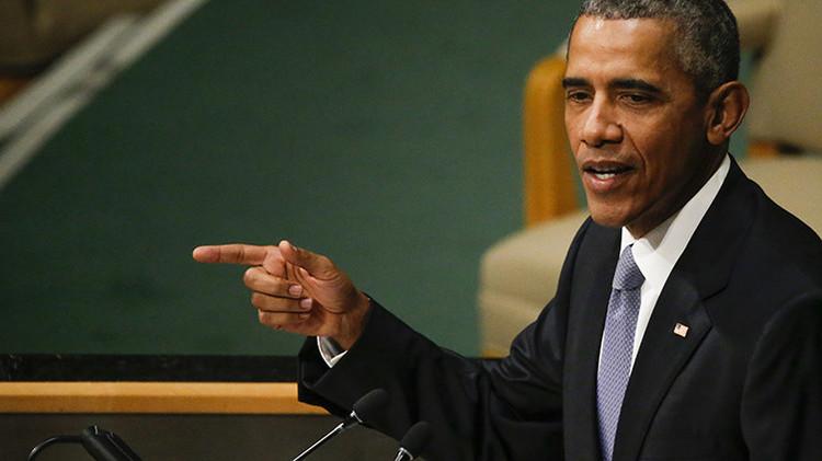 """El discurso de Obama en la ONU, """"la perorata de siempre para encubrir los crímenes de EE.UU."""""""