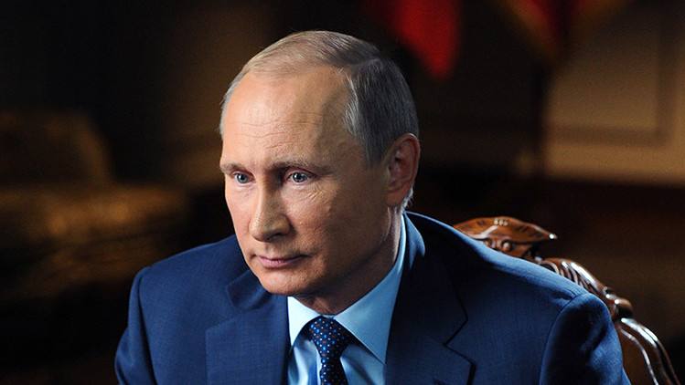 """Putin: """"El único modo de combatir a los terroristas es eliminarlos en los territorios ocupados"""""""