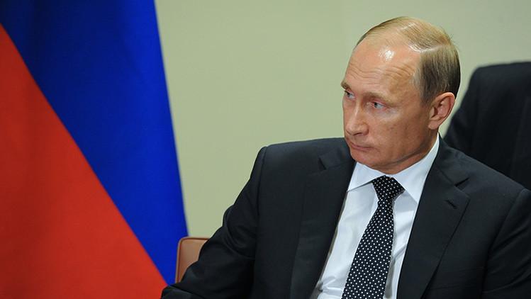 """Putin: """"El conflicto en Siria surgió debido a la interferencia externa"""""""