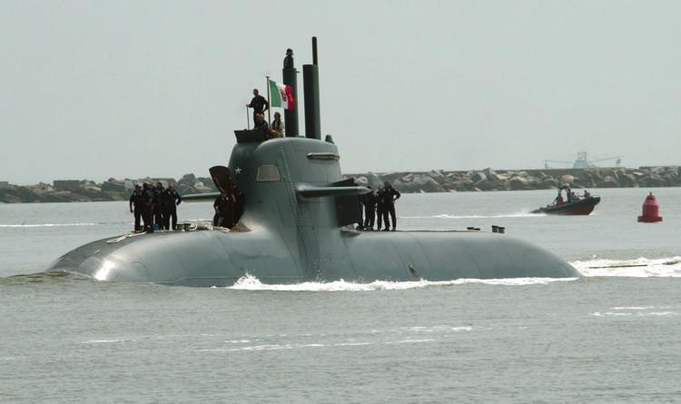 Un submarino de clase Todaro UBOOT
