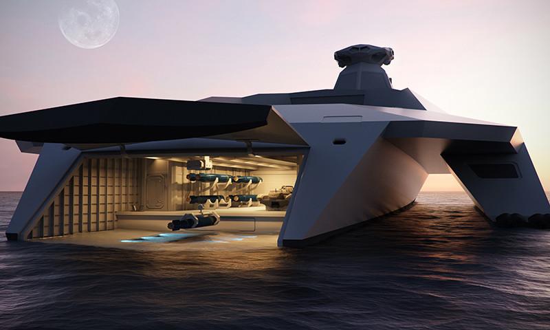 Reino Unido concibe un buque de guerra que hará 'jubilarse' a flotas modernas