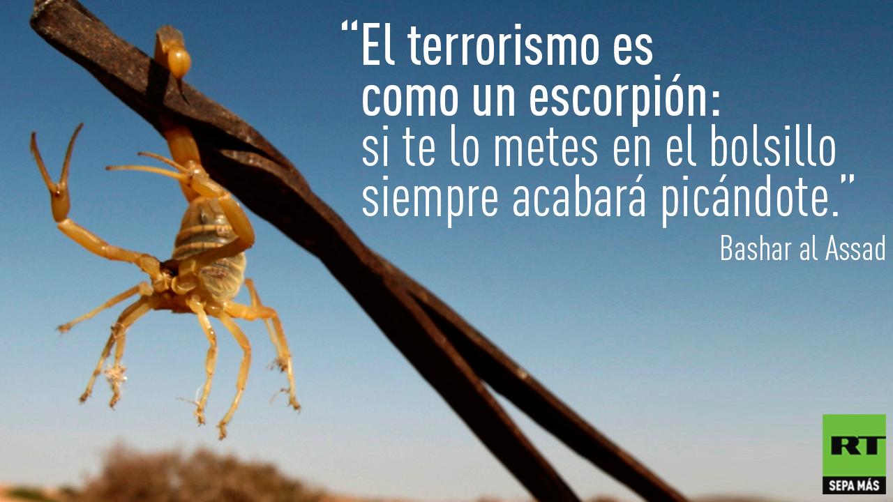 Occidente juega con el terrorismo