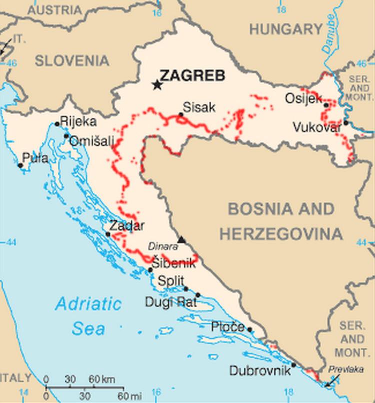 Croacia ruta minada para los refugiados