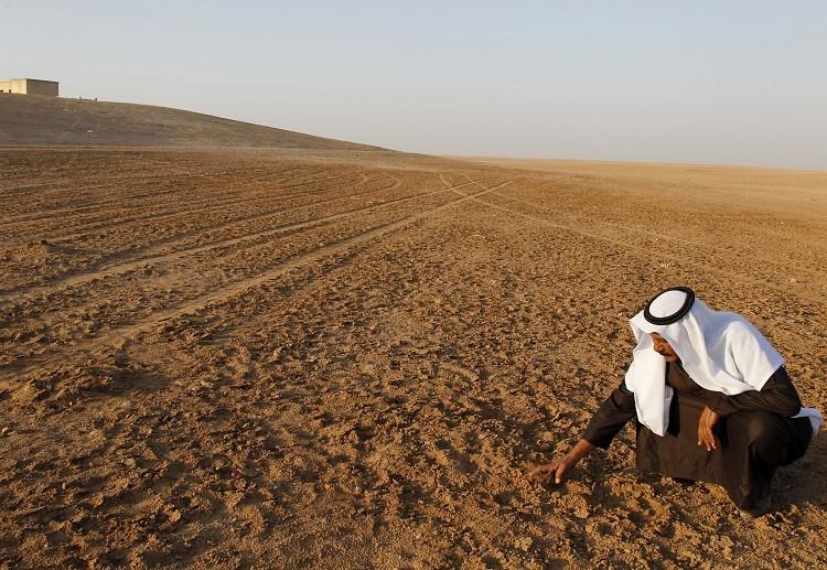 Sequía en la provincia de Raqqa, el este de Siria.