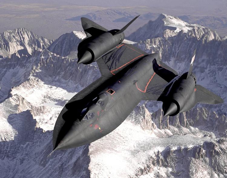 Un avión espía SR-71