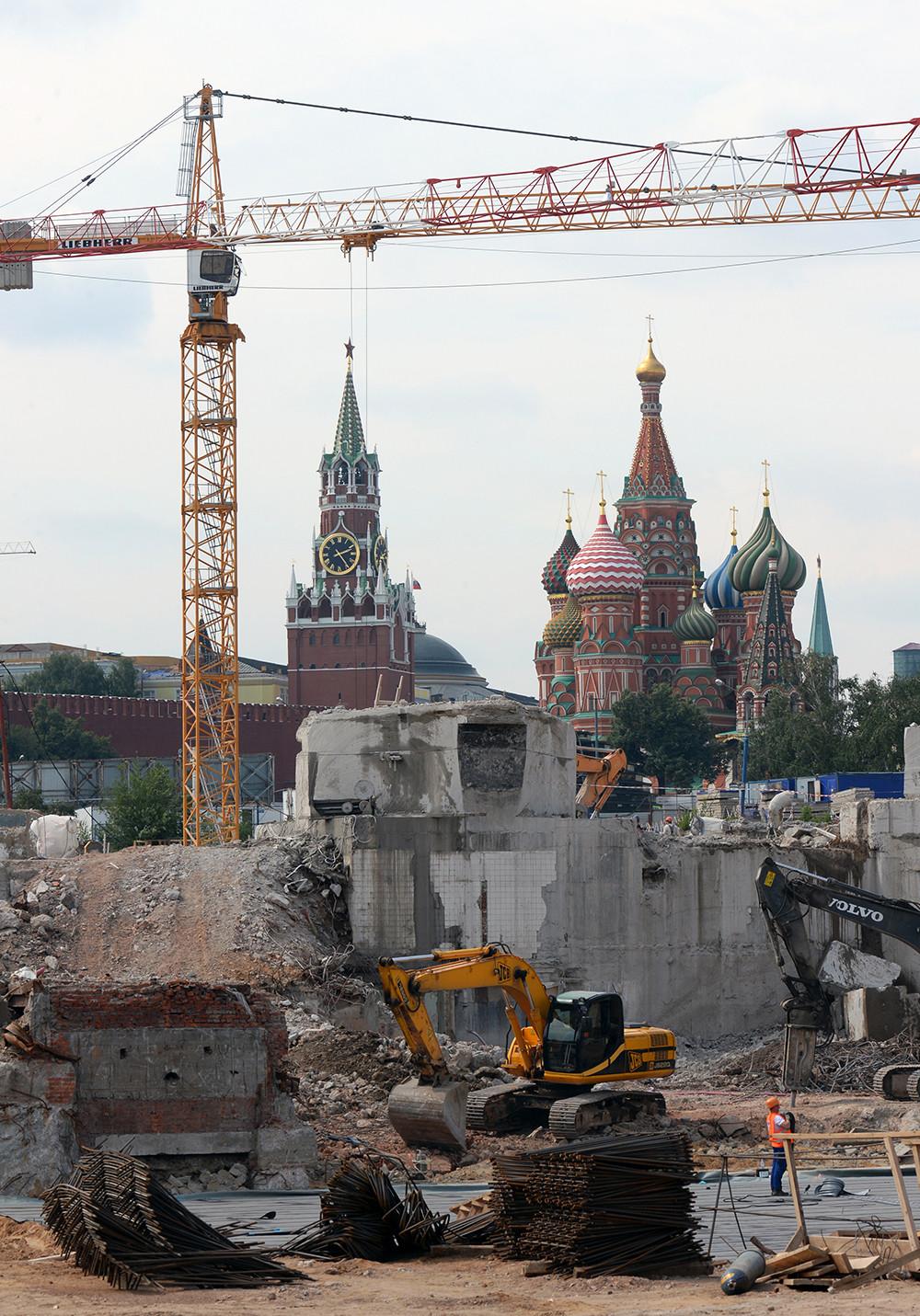 Hallada la más antigua calle de Moscú
