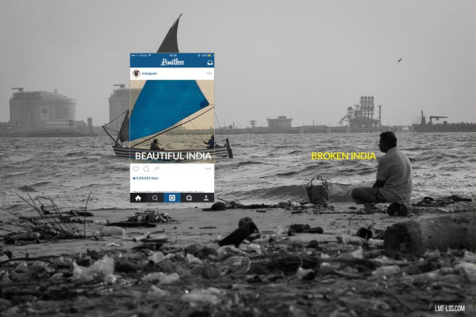 """""""La India rota"""": Cómo las fotografías esconden distorsionan la realidad del país"""