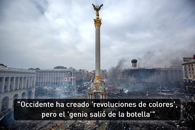 """Occidente ha creado """"revoluciones de colores"""" pero """"el genio salió de la botella"""""""