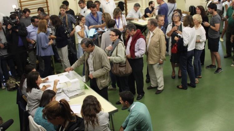 """Artur Mas: """"Si gana el 'Sí' nos sentaremos a la mesa con Estaña y con países europeos"""""""
