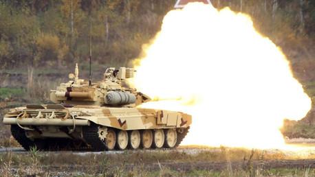 Los Abrams M1 del Estado Islámico vs. los T-90 rusos