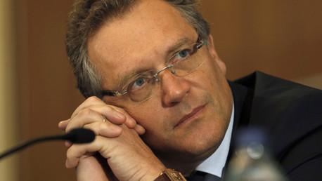 El secretario general de la FIFA, Jerome Valcke, suspendido del cargo