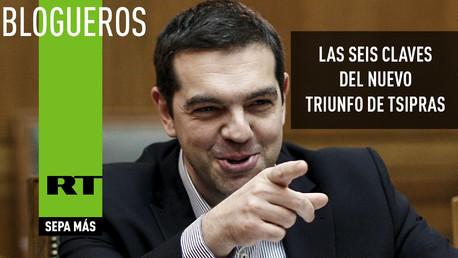Las seis claves del nuevo triunfo de Tsipras