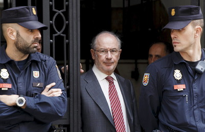 Un juez ordena embargar los bienes del exdirector del FMI Rodrigo Rato