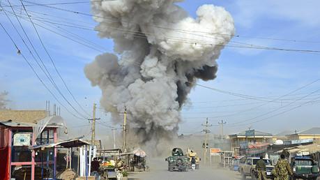 EE.UU. bombardea la ciudad afgana de Kunduz, controlada por los talibanes