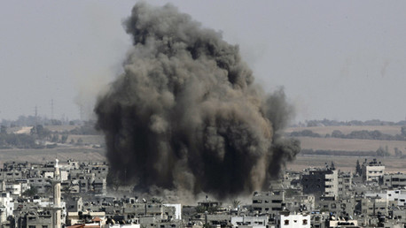 Israel responde con ataques aéreos a un cohete lanzado desde Gaza