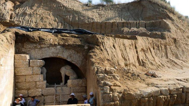 Misterio revelado: el mausoleo de Anfípolis no es la tumba de Alejandro Magno