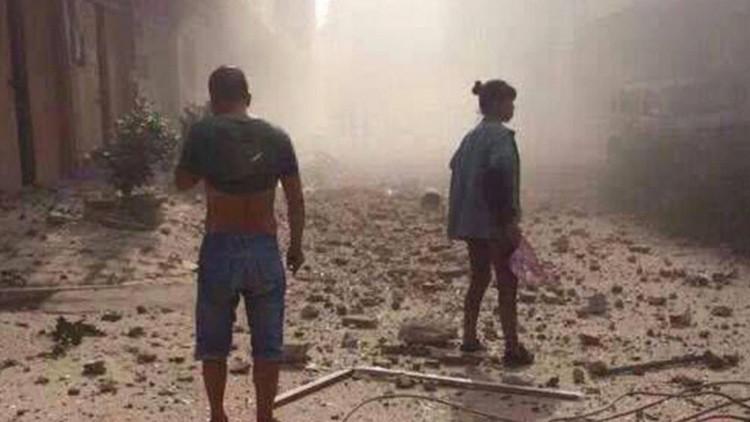 Otra explosión sacude una ciudad al sur de China