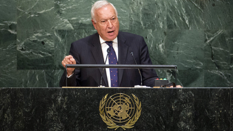 "España ante la ONU: ""Con los terroristas no se negocia. Se les derrota"""