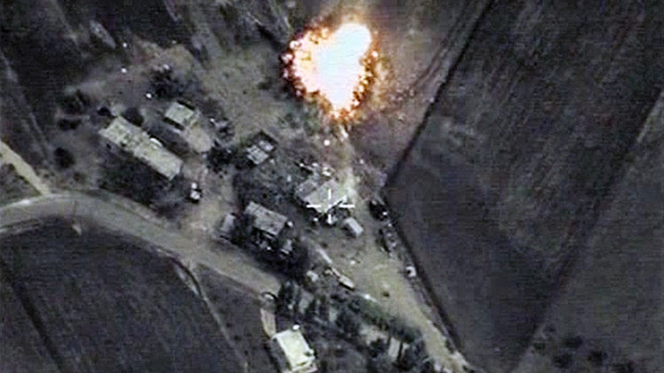 Los aviones de las fuerzas aeroespaciales rusas han realizado ataques selectivos contra las posiciones del Estado Islámico en Siria