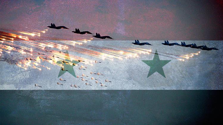 Operativo ruso antiterrorista en Siria